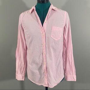 NWOT Old Navy Pink Boyfriend Fit Button Down Shirt